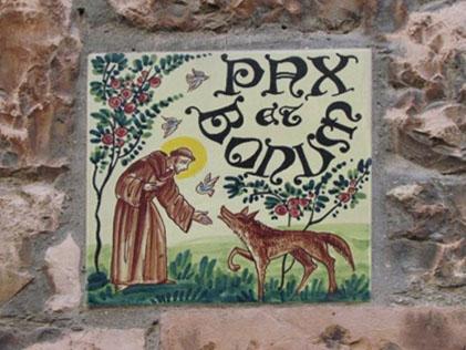 Pax et Bonum Fliese